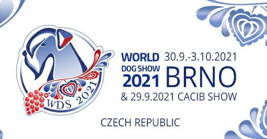 logo of the World Dog show that is taking place in the Czech Republic in 2021